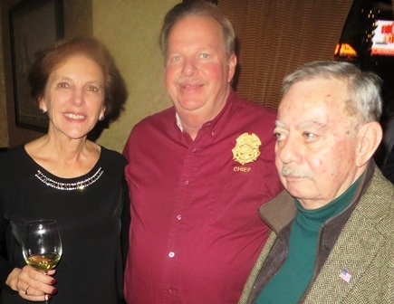 2016 holiday party joan afd chief jeff erath mayor wandell small