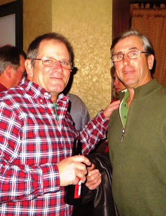 2016 holiday party trustees dennis siry and kevin smith small