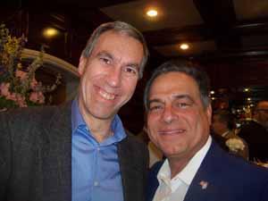 Thomaston Mayor Stephen Weinberg with Saddle Rock Mayor Dr. Dan Levy