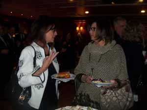 Village of Kensington Mayor Susan Lopatkin and NCVOA Immediate Past President Barbara Donno