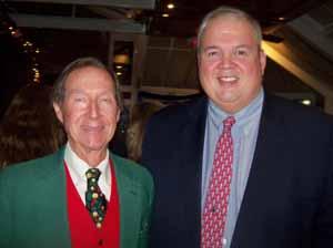 Baxter Estates Deputy Mayor Charles Comer and Garden City Trustee Robert Bolebruch