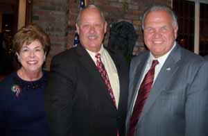 Baxter Estates Mayor Nora Haagenson, NCVOA President Robert Kennedy, and North Hills Deputy Mayor Dennis Sgambati