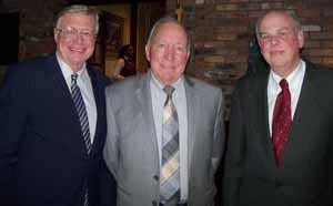 NCVOA Immediate Past President Bernie Ryba with Hempstead Mayor Don Ryan and Town of Hempstead's Bert Patterson