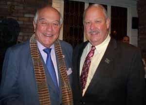 NCVOA Past President Marvin Natiss with NCVOA President Robert Kennedy