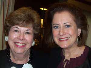 Baxter Estates Mayor Nora Haagenson with Great Neck Plaza Mayor and NCVOA 2nd Vice President Jean Celender