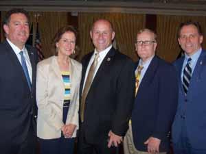 Brookville Mayor and NCVOA Treasurer Dan Serota