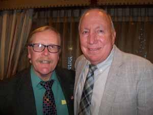 Farmingdale Mayor and NCVOA 1st Vice President Ralph Ekstrand with Hempstead Mayor Don Ryan