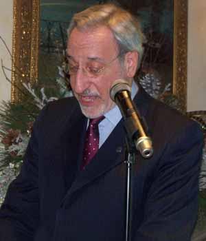 NCVOA's new executive director Ralph Kreitzman addresses the membership