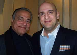 Saddle Rock Mayor Dr. Dan Levy and Trustee Kamran Barelli